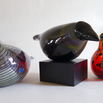 Watch the birdy! - Art Glass