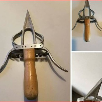 I was told that it's an old Swedish Tool??? I still don't know what it could be.