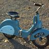 Vintage Vespa style scooter