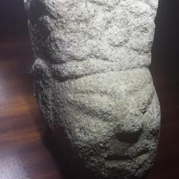 Unknown Granite Head (Oriental?) - Asian