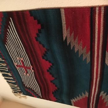 Native American rug - Native American