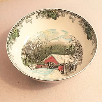 My giant candy bowl - China and Dinnerware