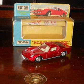 Matchbox KingSize Lamborghini Miura K-24 - Model Cars