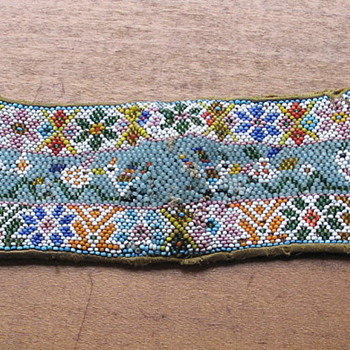 Antique Indian collar or cuffs? - Native American