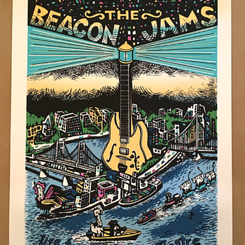 The Beacon Jams, by Jim Pollock - Fine Art