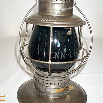 Allegheny Valley RR Railroad Lantern - Railroadiana