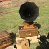 Gatsby Summer Afternoon — Victrola gramophone that survived 1906 earthquake