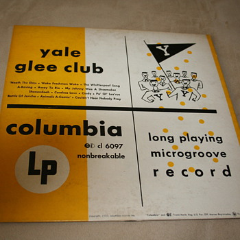 Yale Glee Club 1950  - Records
