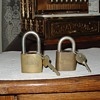 Best Lock Padlocks...Chevrolet and Ford Logos...With Keys