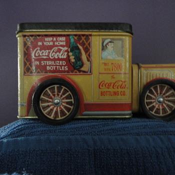 1994 Coca Cola Tin Truck - Coca-Cola