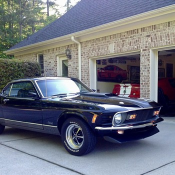 1970 Ford Mustang Mach 1.  Triple black. Concours condition.  - Classic Cars