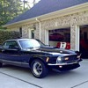 1970 Ford Mustang Mach 1.  Triple black. Concours condition.