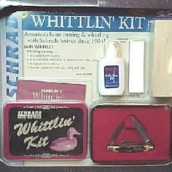 Schrade Whittlin Kit - Tools and Hardware