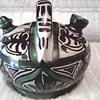 """Domingo Punter"" Red Clay Teruel Pottery Botijo (water pot)  /14th Century Spanish Romantic Style / Age Unknown"