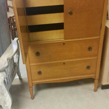 Birdseye Maple Dresser - Furniture