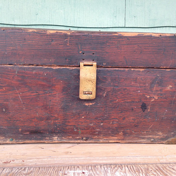 Vintage handmade Tool Chest / Box? - Tools and Hardware