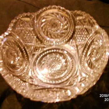 Fostoria Viginia Bowl.  - Glassware