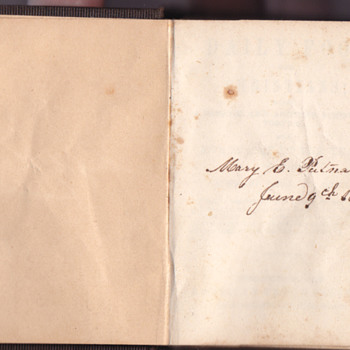Miniature book, Dailey food for Christians 1853 - Books