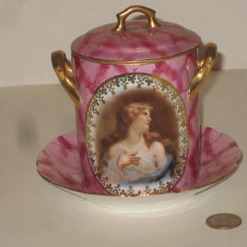 Pink Dish - Pottery