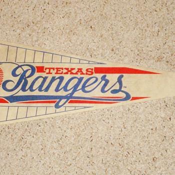 Texas Rangers Pennant - Baseball