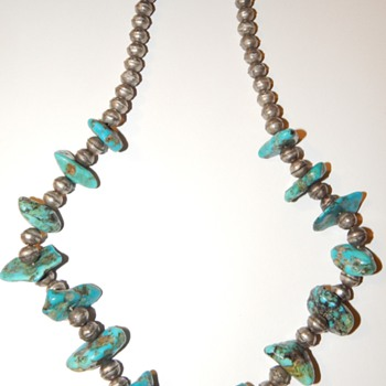 SILVER AND TURQUOISE?