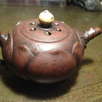 info on this cute teapot - Asian