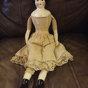 1860's china doll or reproduction? - Dolls