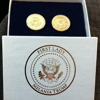 First Lady Melania Trump Official White House Collectibles - Fine Jewelry