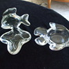 """A Couple of Crystal VANNES-LE-CHATEL """"Fishies"""" Trays"""