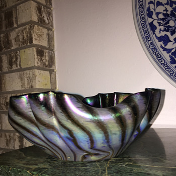 Rindskopf Persia (Persica) Bowl - Art Glass