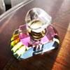 Murano Art Glass Aurora Prism Perfume Bottle
