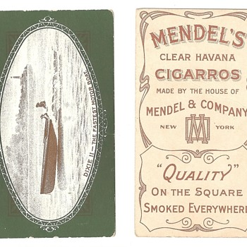 I think this is pretty rare tobacco card, but...
