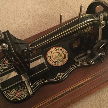 Frantom sewing machine  - Sewing