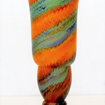 Czech glass Satin Zipper Decor, the mystery continues... - Art Glass