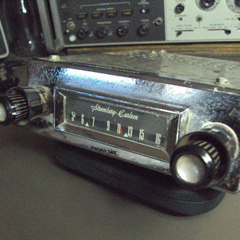 MY STROMBERG CARLSON CAR RADIO