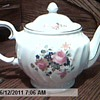 The San Francisco Music Box Staffordshire In England Rose Tea Pot