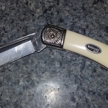 Solingen ivory,single lock blade knife stainless - Tools and Hardware