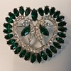 Wiesner heart brooch