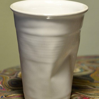 CRINKLED CUP BY ROB BRANDT for Haus. - Pottery