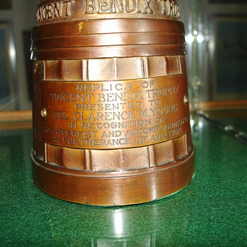 Bendix Trophy - Art Deco