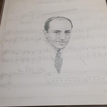 George gershwins autograph?? - Fine Art