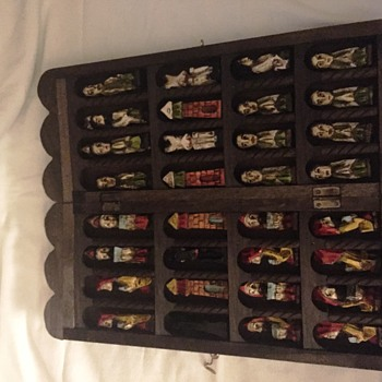 Creepy Praying Chess Set - Games