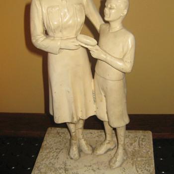 Sheaffer's pen statuette