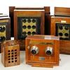 Early Multiple Lens Wood & Brass Field Cameras