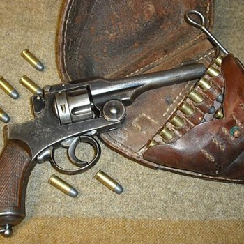 Japanese T-26 Revolver - Military and Wartime