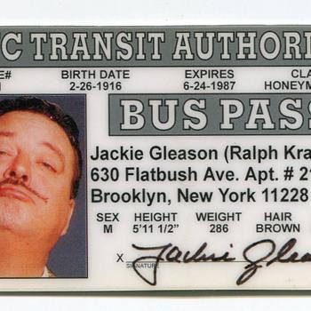 Jackie Gleason Mementoes…. - Paper