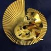Swirl Fan and Enameled Brooch - Identify?