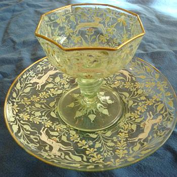 Dessert Dishes - Glassware