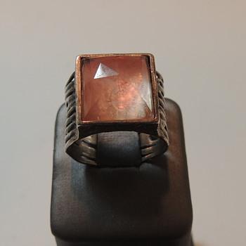 Sterling Silver Women's Ring - Quartz??? - Fine Jewelry