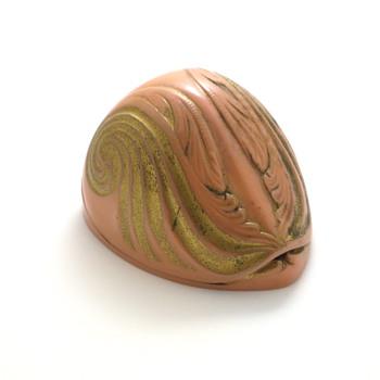 pink nautilus shell ring box - Fine Jewelry